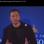 Elon Musk's WOW: What if Everyone at the Climate Summit Watches or Reads His Talk?