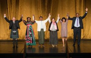 2015 Goldman Prize Winners from Scotland, Kenya, Myanmar, Canada, Honduras, Haiti